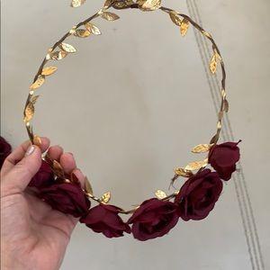 2x$20 Floral headpiece headband photo shoot family